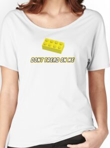 Don't Tread On Me Block Women's Relaxed Fit T-Shirt