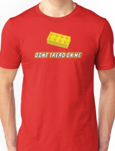 Don't Tread On Me Block Unisex T-Shirt