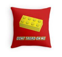 Don't Tread On Me Block Throw Pillow