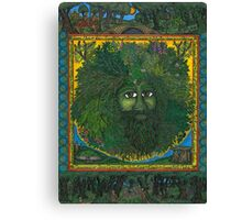 The Ledgend of The Greenman Canvas Print
