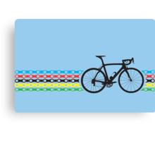Bike Stripes World Champion (Chain) Canvas Print