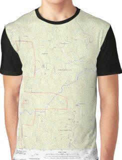 USGS TOPO Map California CA Willow Creek 20120229 TM geo Graphic T-Shirt