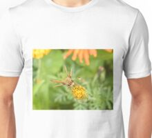 Insect and Flower Close-Up, New York Botanical Garden, Bronx, New York Unisex T-Shirt