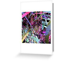 Shatter City Greeting Card