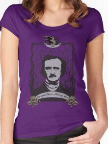 Edgar Allan Poe - The Raven Women's Fitted Scoop T-Shirt