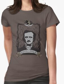 Edgar Allan Poe - The Raven Womens Fitted T-Shirt