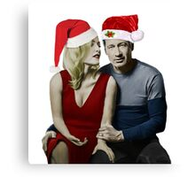 Christmas with Schmoopies Canvas Print