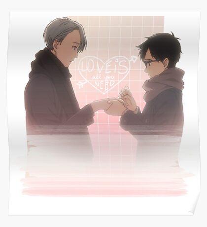 Viktor & Yuri Engagement Poster
