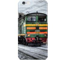 Train on the road iPhone Case/Skin