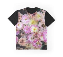 A Day in the World of Flowers Graphic T-Shirt