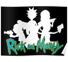 Rick and Morty Family Poster