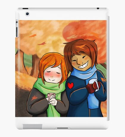 fall fluff iPad Case/Skin