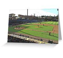 Thresher's Baseball Greeting Card
