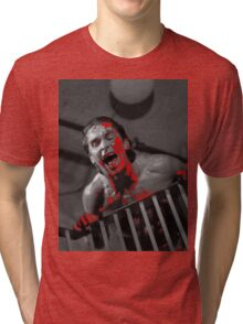American Psycho Stairway Tri-blend T-Shirt