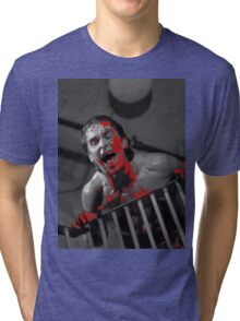 American Psycho Stairway Tri-blend T-Shirt