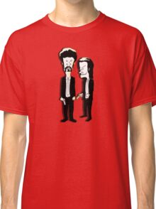 Beavis and Butthead as Jules and Vincent in Pulp Fiction Classic T-Shirt