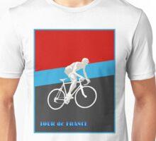 TOUR DE FRANCE; Bike Racing Print Unisex T-Shirt