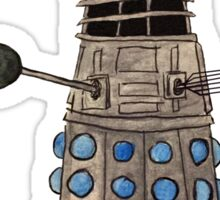 Cardinal vs Dalek Sticker