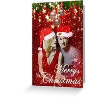 Christmas with Schmoopies Greeting Card