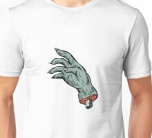 Zombie Monster Hand Drawing Unisex T-Shirt