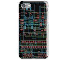 Circuit Design 1 iPhone Case/Skin