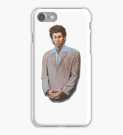 Kramer painting from Seinfeld iPhone Case/Skin