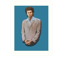 Kramer painting from Seinfeld Art Print