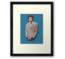 Kramer painting from Seinfeld Framed Print
