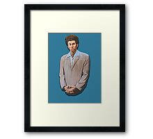 Kramer painting from Seinfeld Framed Print