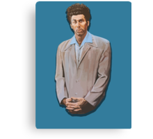 Kramer painting from Seinfeld Canvas Print