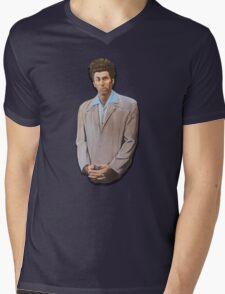 Kramer painting from Seinfeld Mens V-Neck T-Shirt