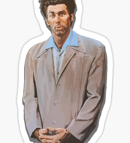 Kramer painting from Seinfeld Sticker