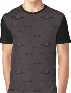 Bat pattern Graphic T-Shirt