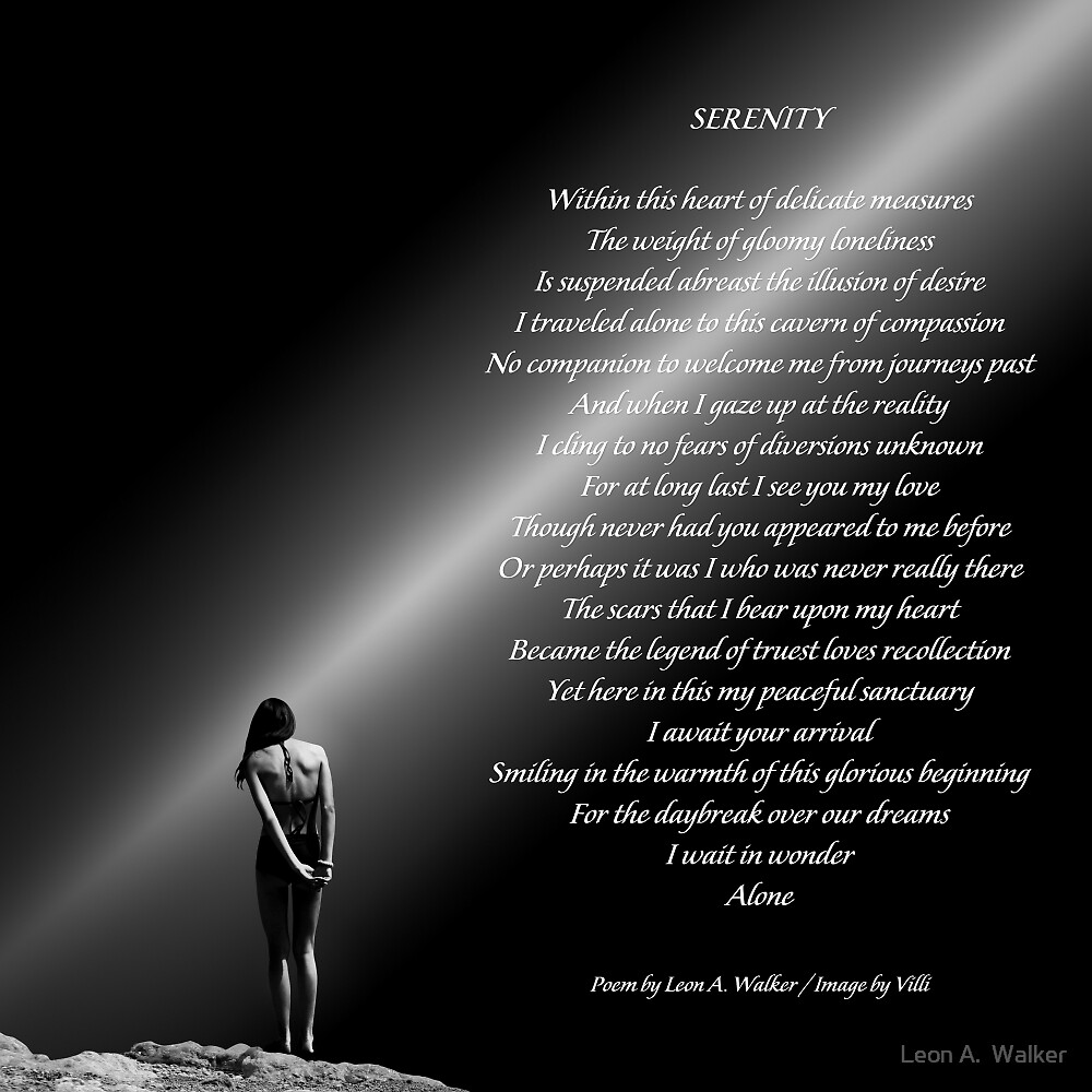 Serenity by Leon A.  Walker