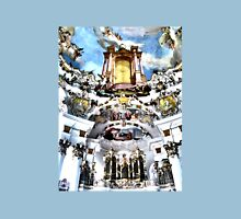 Ceiling Fresco and Organ, Wieskirche Unisex T-Shirt