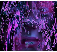 Lavender Tears Photographic Print