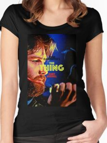 THE THING 30 Women's Fitted Scoop T-Shirt