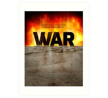 It's War Art Print