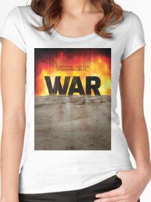 It's War Women's Fitted Scoop T-Shirt