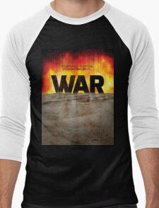 It's War Men's Baseball ¾ T-Shirt