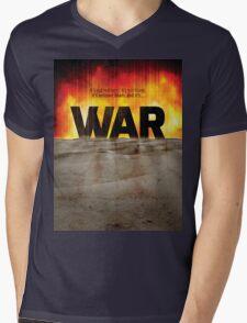 It's War Mens V-Neck T-Shirt