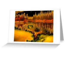 Mirage Greeting Card