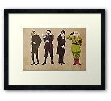 Blackadder Framed Print