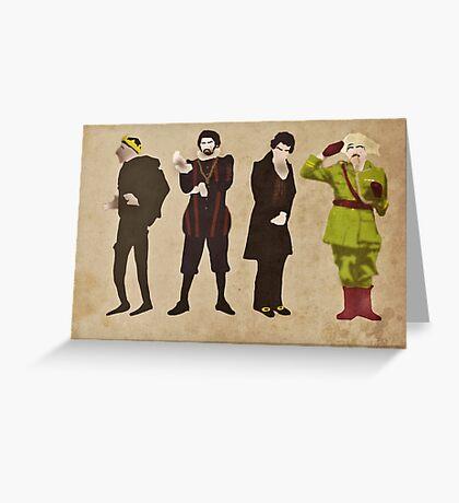 Blackadder Greeting Card