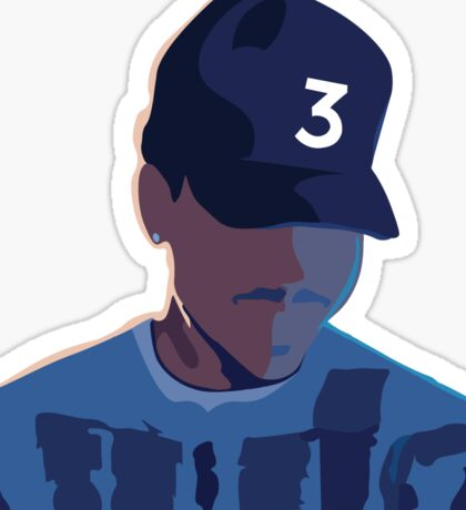 Chance the Rapper - Coloring Book  Sticker