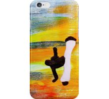 Capoeira love martial arts brazil iPhone Case/Skin