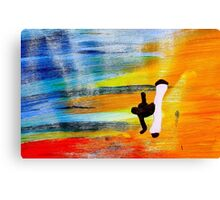 Capoeira love martial arts brazil Canvas Print