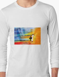 Capoeira love martial arts brazil Long Sleeve T-Shirt