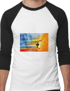Capoeira love martial arts brazil Men's Baseball ¾ T-Shirt
