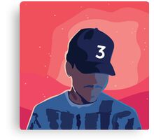 Chance the Rapper - Coloring Book with Background Canvas Print